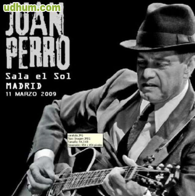 Juan perro sala el sol madrid 2009 for El sol madrid