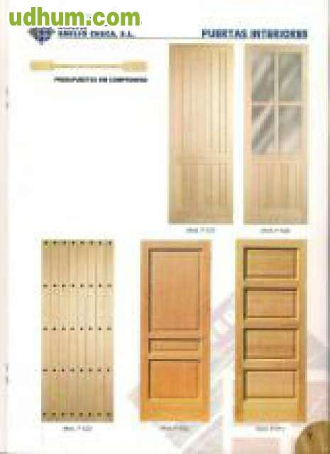 Puertas de madera a medida for Puertas madera a medida