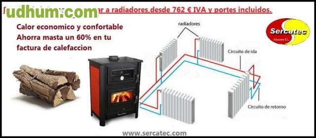 Hidroestufas de le a conexion radiadores - Calefaccion de lena con radiadores ...