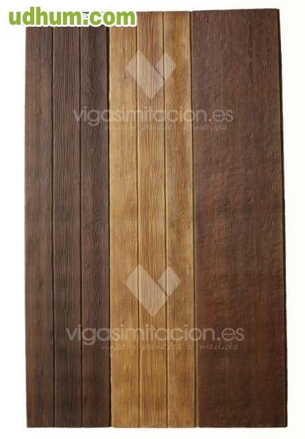 Vigas paneles mensulas imitacion madera - Paneles imitacion madera ...