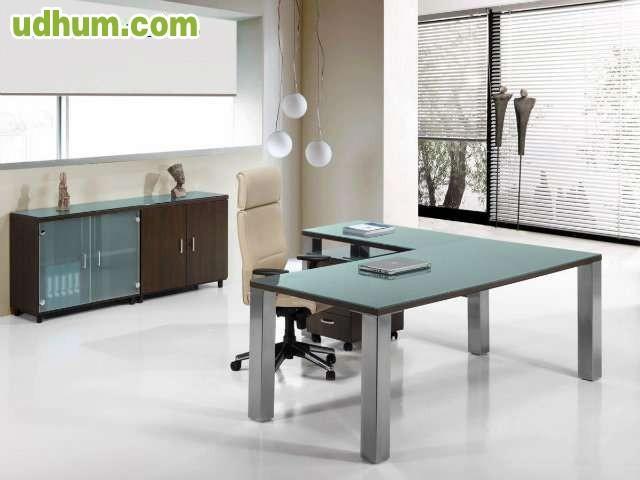 Mesas y mobiliario para despachos lkl for Mobiliario para despachos