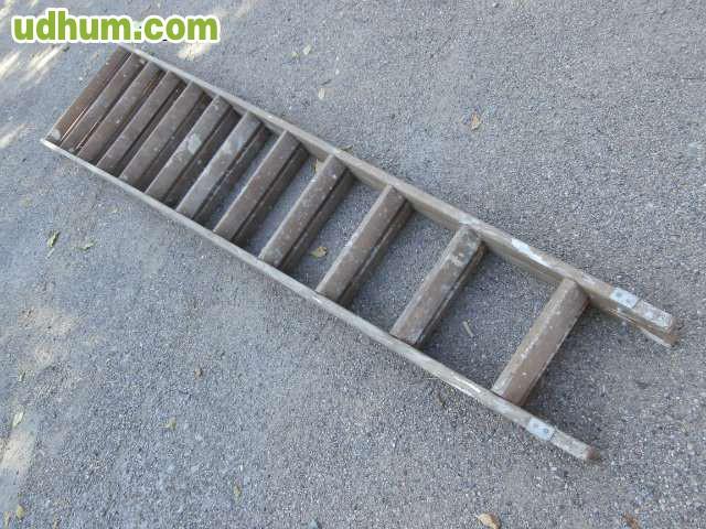 Escalera tijera de madera de 3 metros for Escalera 8 metros