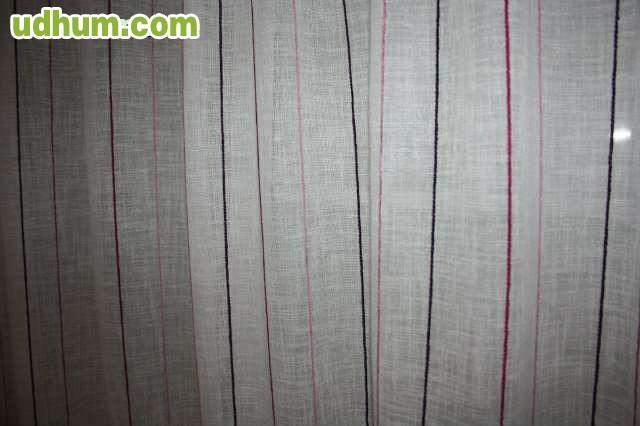 Juego cortinas y visillo alta calidad - Cortinas con visillo ...