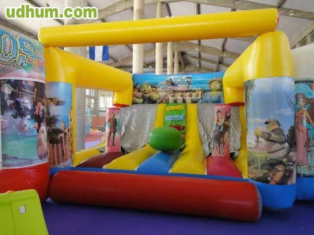 Castillos hinchables para adultos en venta