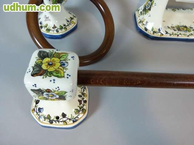 Accesorios de cer mica para ba os for Juego de accesorios para bano de ceramica