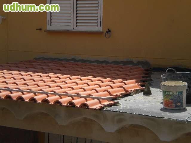 Reformas de tejados terrazas piscinas for Dec para terrazas