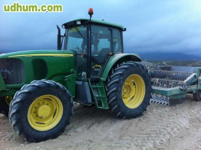 John deere 6520 6830 for Tractores en almeria