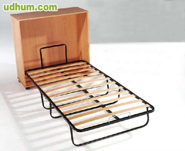 Plegatin con mueble cama auxiliar - Camas supletorias plegables ...