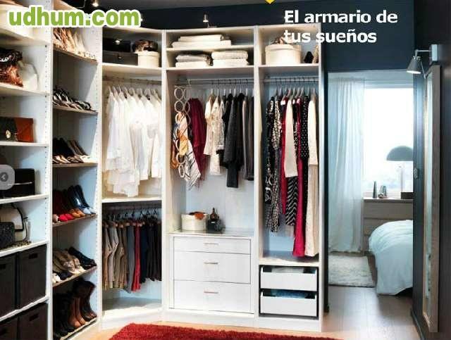 Montaje de armarios y vestidores - Vitrinas merkamueble ...