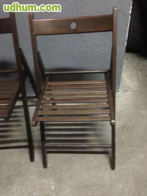 4 sillas madera ikea modelo terje - Sillas madera ikea ...