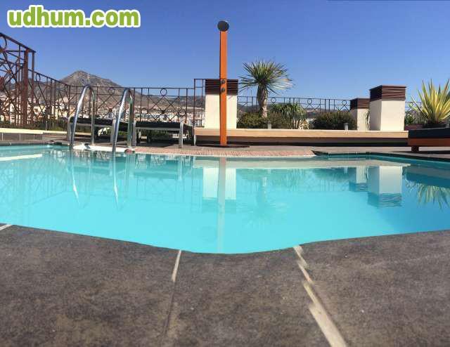 Tico de lujo piscina privada for Atico con piscina privada
