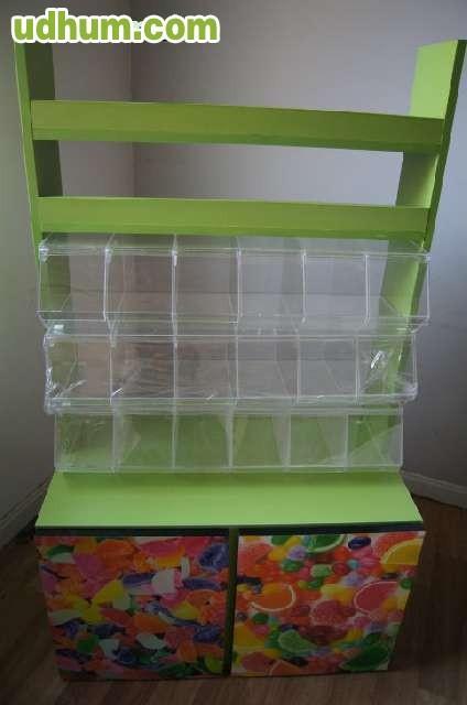 Mueble metacrilato golosinas y caramelos - Muebles de metacrilato ...