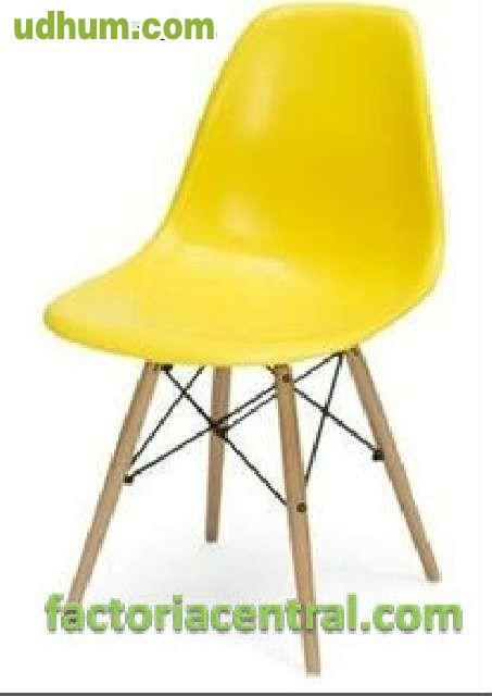 Oferta silla eiffel de madera for Oferta sillas madera