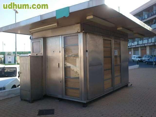 Vendo caseta de kiosco for Vendo caseta metalica