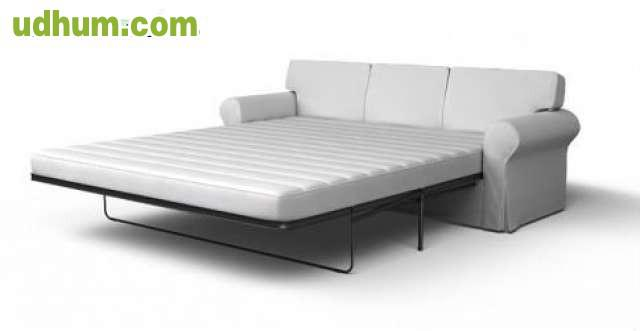 Compro funda sof cama ektorp 3 plazas 1 - Funda sofa blanca ...