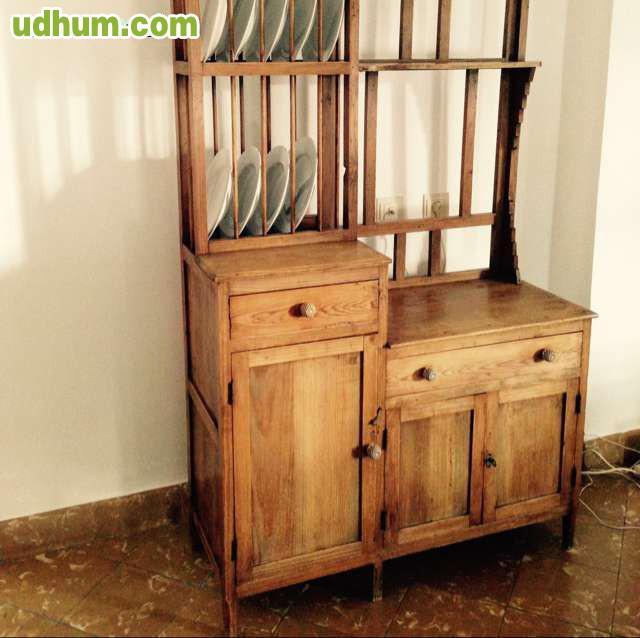 Mueble de cocina antiguo vintage for Muebles de cocina vintage