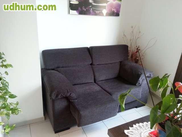Sofa extensible reclinable como nuevo - Sofa extensible ...