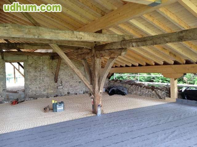 reformas caserios tejados chalets madera