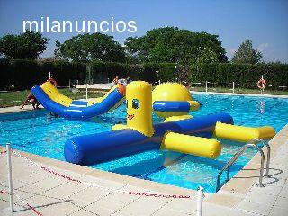 Hinchables acuaticos para piscinas - Red voley piscina ...
