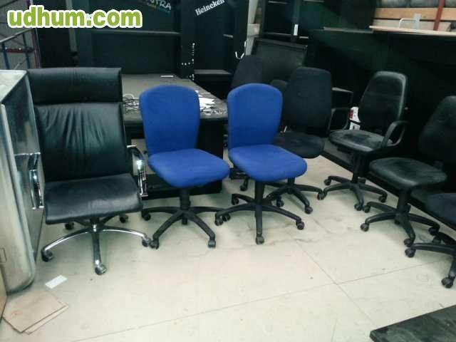 Silla sillones oficina for Sillas de oficina usadas