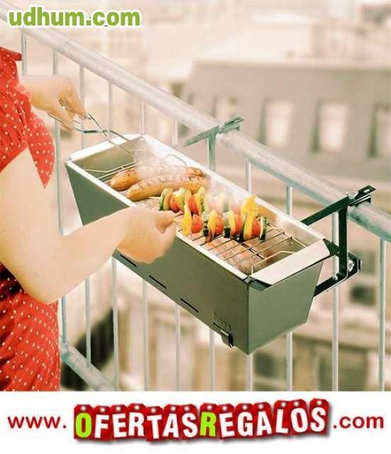 Barbacoa de balc n bbq grill 3 - Barbacoa de balcon ...
