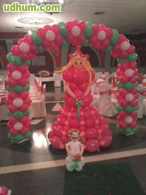 Decoraci n de globos econ mica for Decoracion hogar jaen