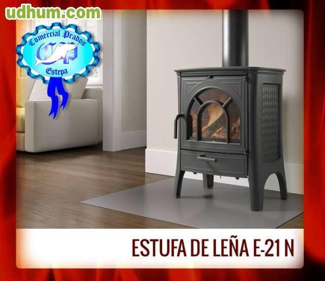 Estufa de le a e 21 n hergom - Milanuncios chimeneas de hierro ...
