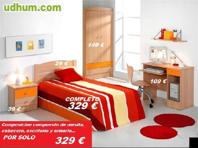 Dormitorio juvenil 36 for Muebles ledesma