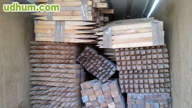 Estacas de madera 2 - Estacas de madera para cierres ...