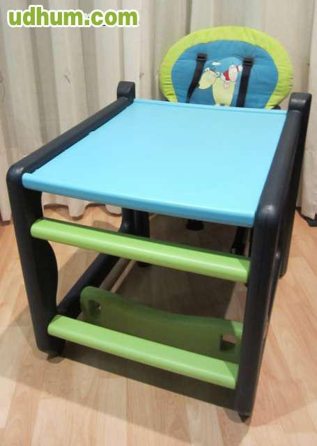 Trona jan convertible en mesa y silla 2 for Silla que se convierte en mesa
