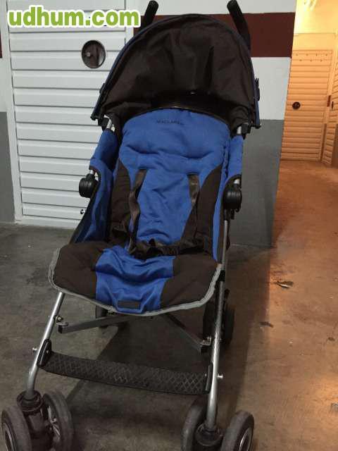 Vendo carro bebecar y silla mclaren for Mclaren carro de paseo