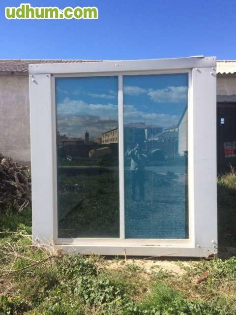 Caseta oficina de obra for Vendo caseta metalica