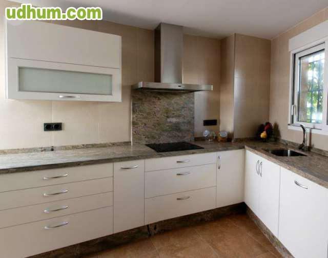 Muebles de cocina en laminado mate - Cocina blanca mate ...