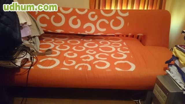 Sofa cama naranja - Sofas fuenlabrada ...