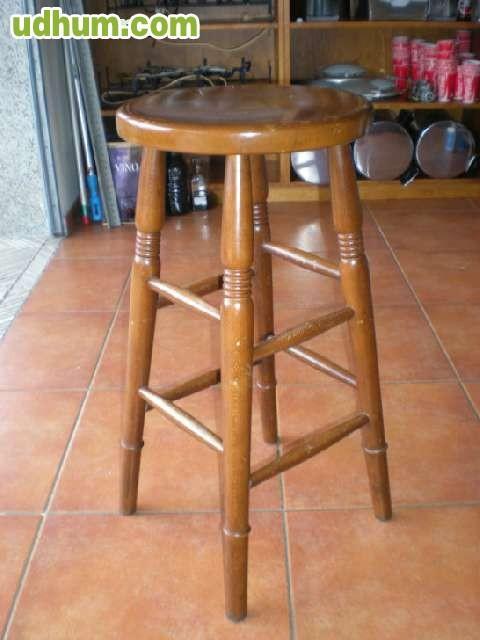 Mesa alta con taburetes madera - Mesa alta con taburetes ...