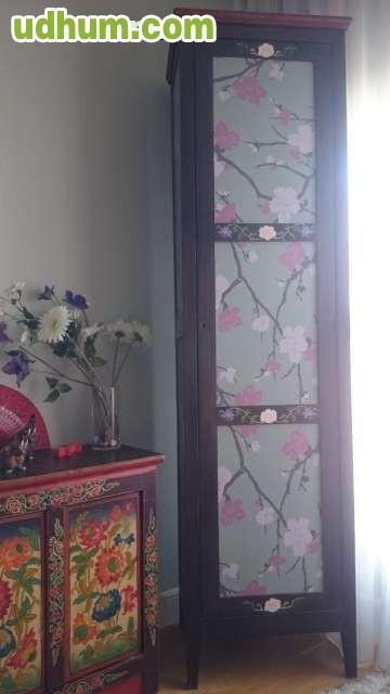 Mueble restaurado y mesa salon - Mueble oriental madrid ...
