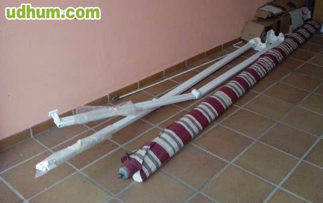 Toldo con brazos articulados for Precio brazo articulado toldo