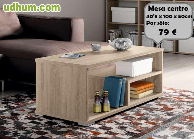 Mesas de centro baratas for Muebles ledesma
