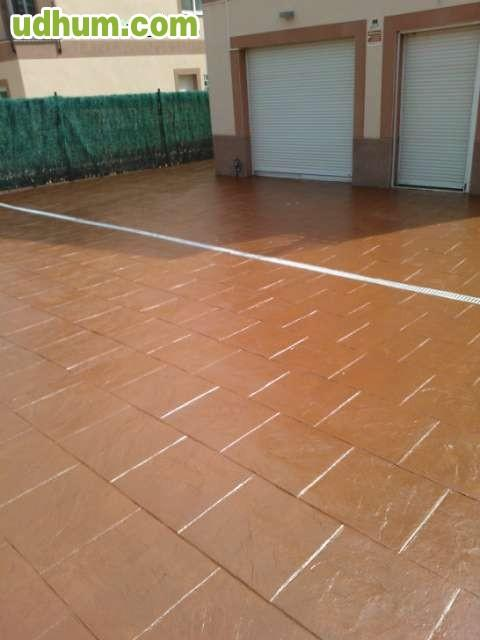 pavimento impreso tarragona barcelona On pavimento impreso barcelona