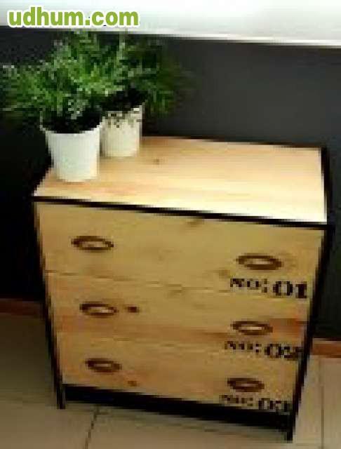 Mueble vintage industrial 1 - Muebles vintage sevilla ...