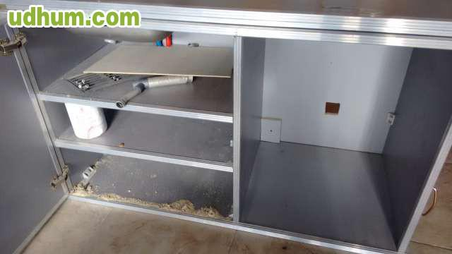 Mueble fregadero furgoneta camper 1 for Fregadero 80x50