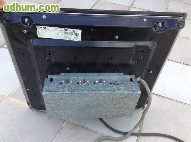 Encimera de cocina el ctrica fagor for Cocina encimera electrica