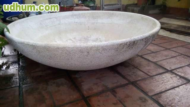 Fuente de piedra decorativa jard n - Piedra decorativa jardin ...