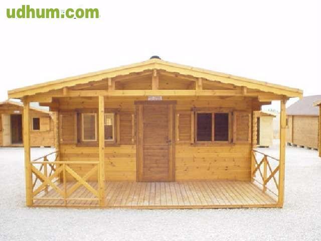 Caba a de madera modelo yvonn - Casas prefabricadas canarias ...