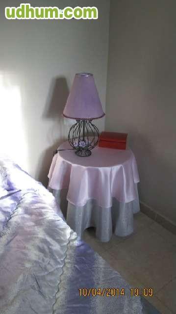 Conjunto ropa cama matrimonio mesitas for Ropa cama matrimonio
