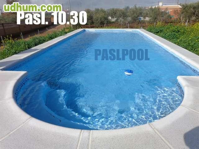 Paslpool piscinas de poliester 46 for Fabricantes piscinas