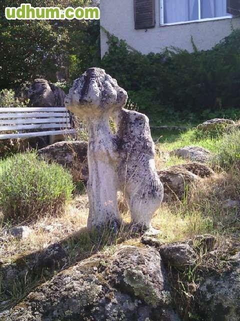Figuras de piedra envejecida - Figuras jardin piedra ...