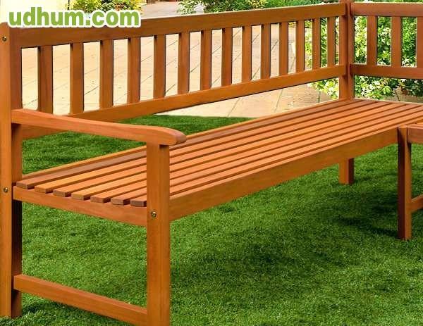 Banco jardin asiento madera for Banco madera jardin