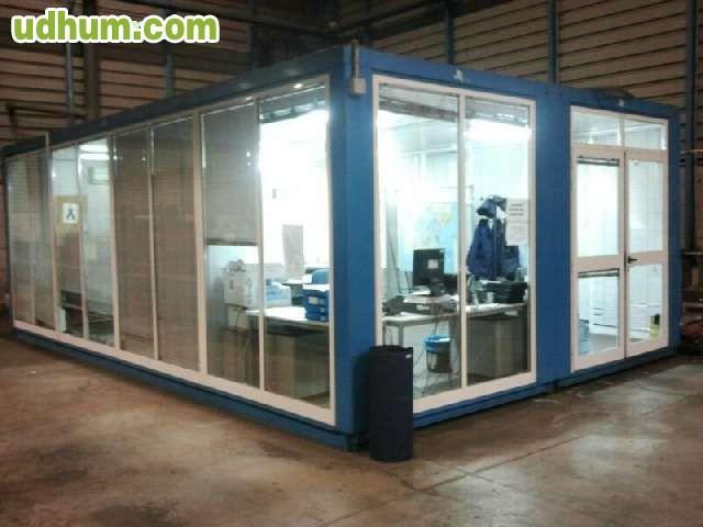 Casa caseta oficina prefabricada obra for Vendo caseta metalica