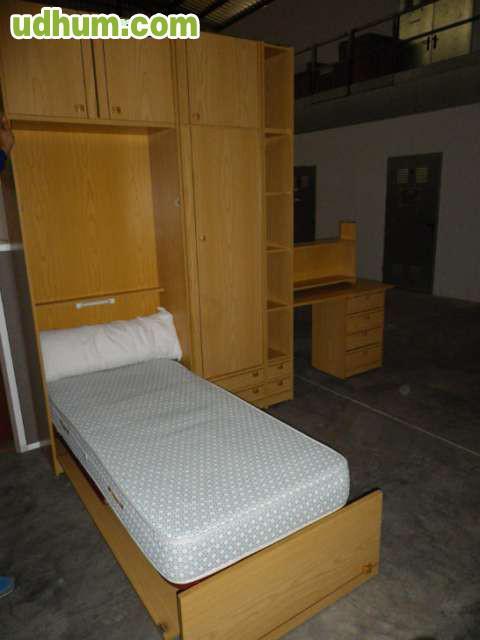 Mueble cama nido con armario y cajones - Mueble cama nido ...